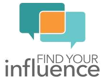 find your influence logo png marketing platform