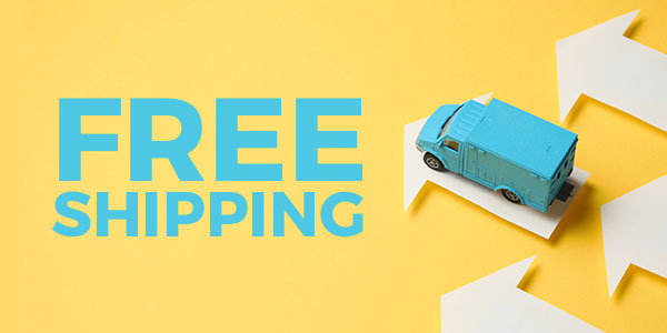 free shipping image arrow van blue yellow