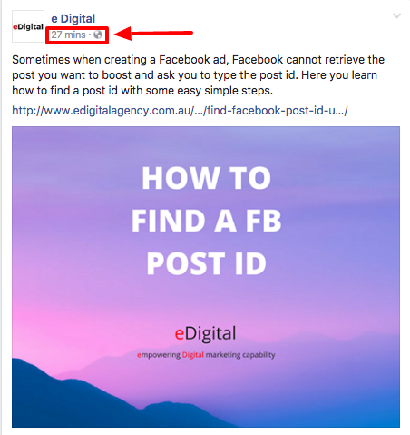 HOW TO FIND A FACEBOOK POST ID IN 2019 · eDigital