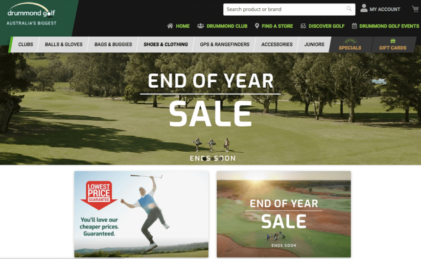 golf january sales deals offers drummond