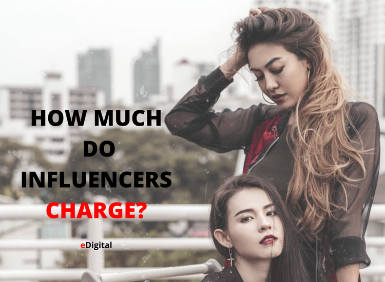 how much do influencers charge