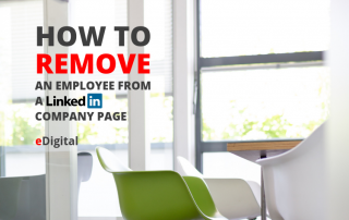 how remove employee from linkedin company page