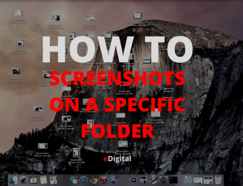 HOW TO SAVE SCREENSHOTS IN A SPECIFIC FOLDER ON MAC