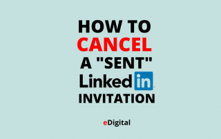 how to cancel a sent linkedin invitation