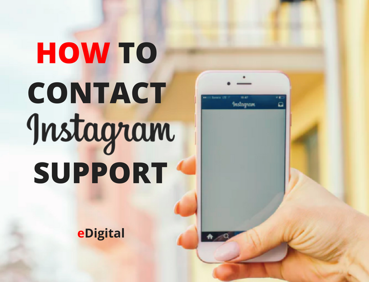 HOW TO CONTACT INSTAGRAM SUPPORT AND EMAIL PHONE NUMBER ...
