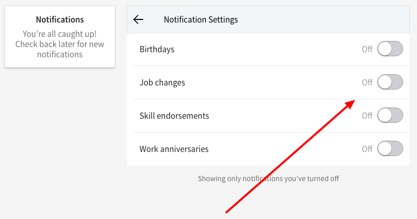 HOW TO TURN OFF BIRTHDAY NOTIFICATIONS ON LINKEDIN