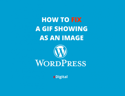 GIF NOT SHOWING ON WORDPRESS – HOW TO SOLVE IT
