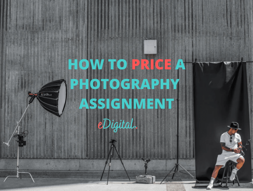 how to price a photography assignment