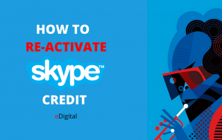 how to reactivate skype credit