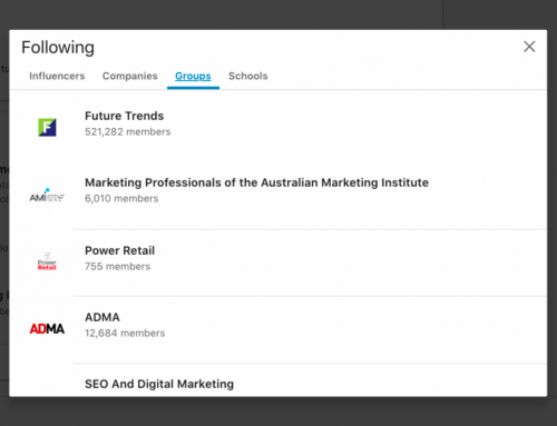 HOW TO SEE GROUPS YOU FOLLOW ON LINKEDIN IN 2020