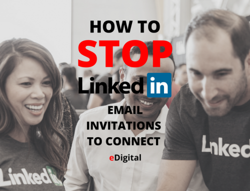 HOW TO STOP LINKEDIN EMAIL INVITATIONS TO CONNECT