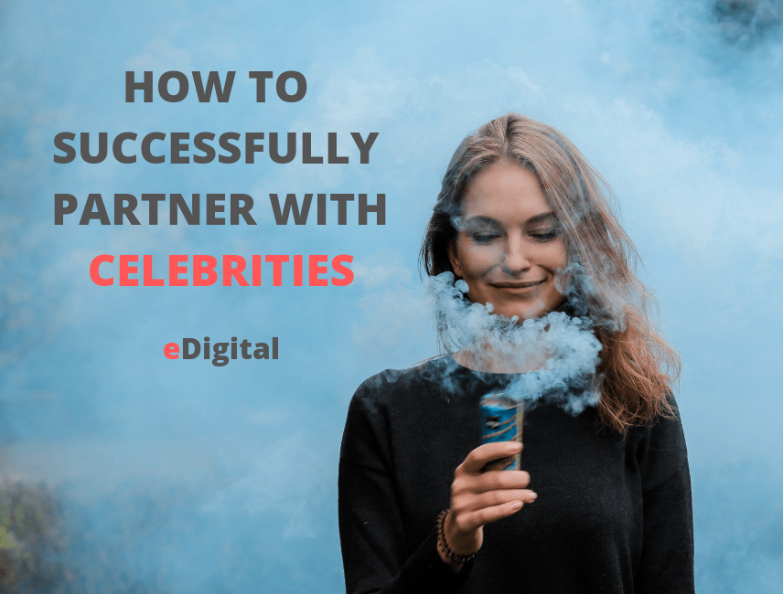 how to successfully partner with celebrities
