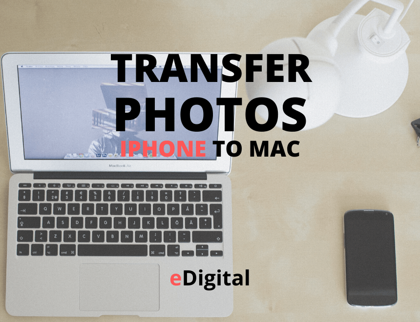 how to transfer photos iphone to mac
