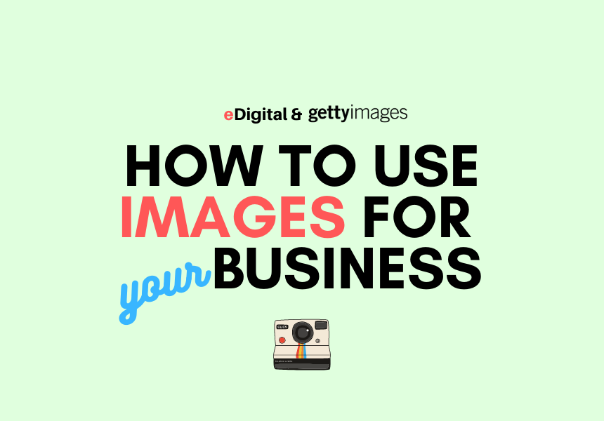 how to use images photos for your business