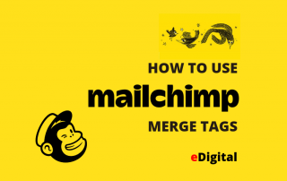how to use mailchimp merge tags
