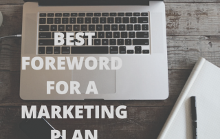 how to write best foreword marketing plan