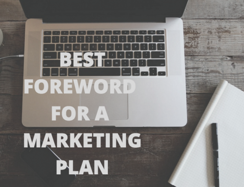 HOW TO WRITE A FOREWORD FOR A MARKETING PLAN