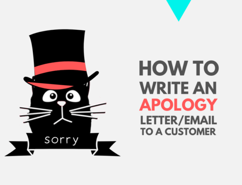 HOW TO WRITE AN APOLOGY LETTER OR EMAIL TO A CUSTOMER