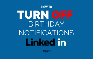 how turn off birthdays notifications linkedin
