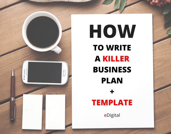 How to write a killer business plan template edigital how write business plan template flashek Images