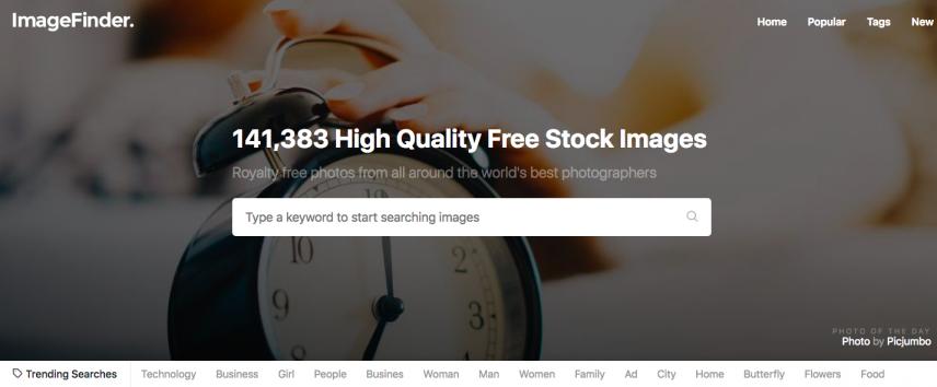 imagefinder free images online website