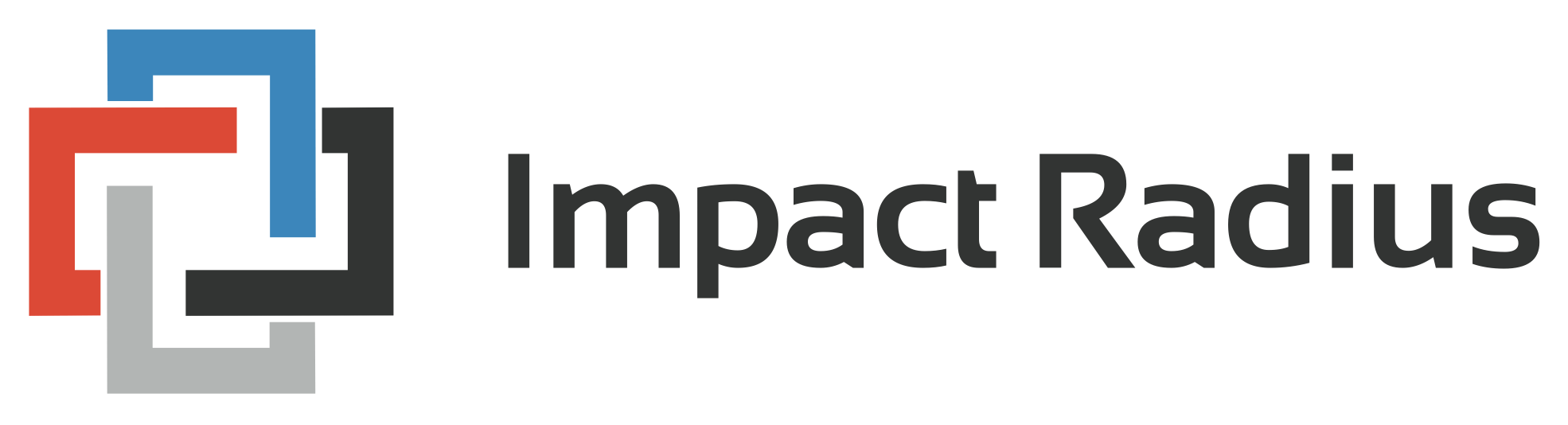 impact radius logo online affiliate marketing program