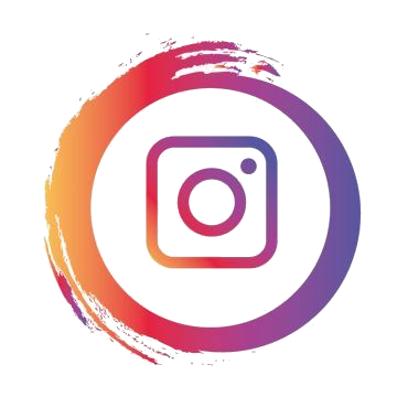 instagram logo png cool version paint brush colours
