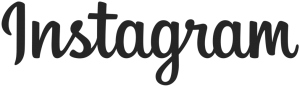 instagram logo text black png