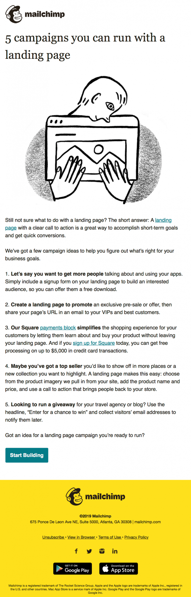 BEST EMAIL MARKETING CONTENT IDEAS IN 2019