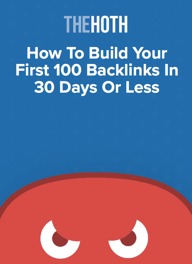 link building guide thehoth 2019 cover