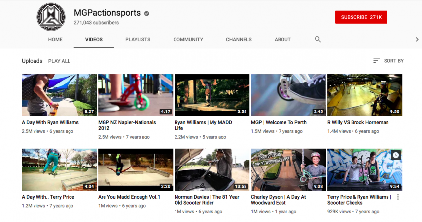 magpaction youtube channel thumbnails action
