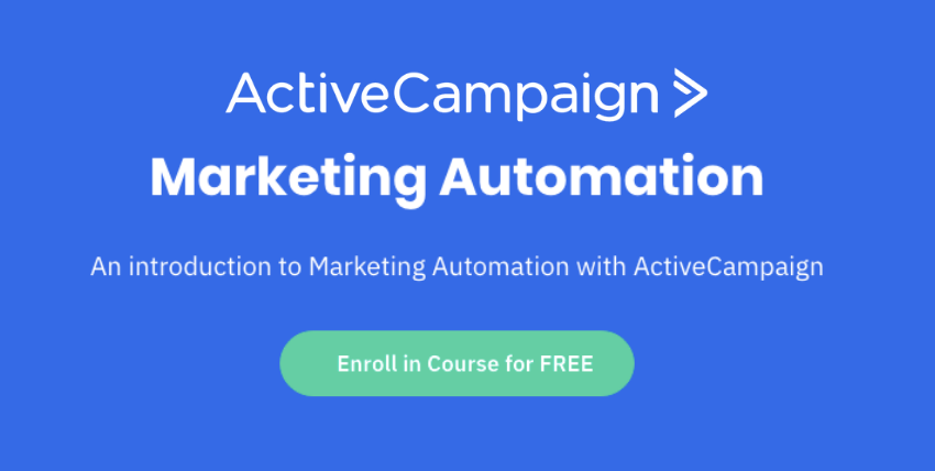 marketing automation course active campaign