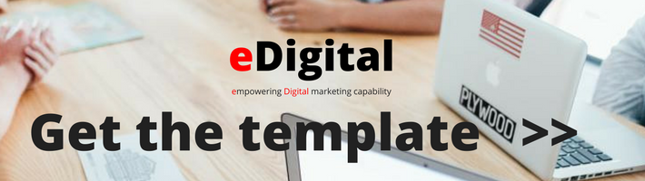 marketing template download eDigital