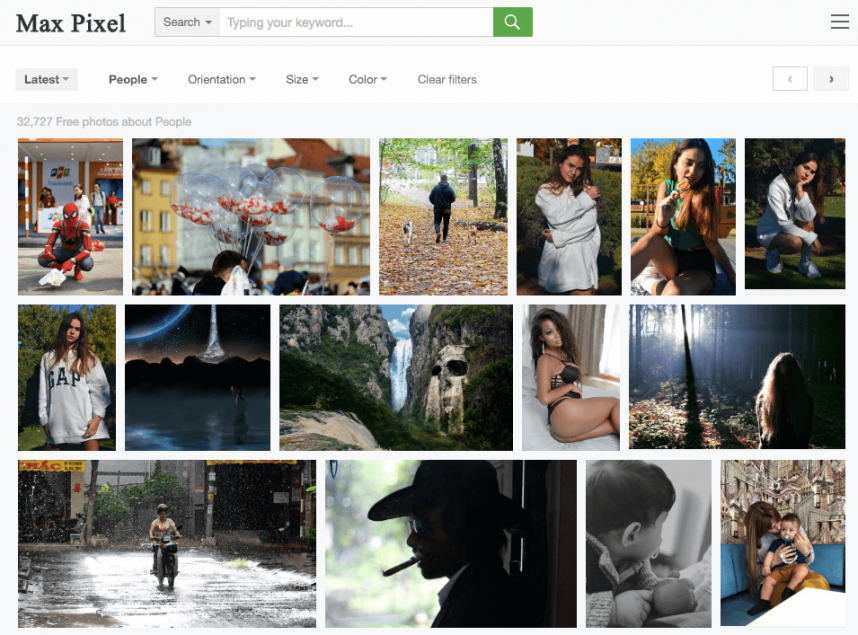 max pixel free stock photography website