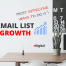 most effective ways to grow your email list tips
