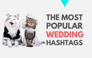 most popular wedding hashtags Instagram