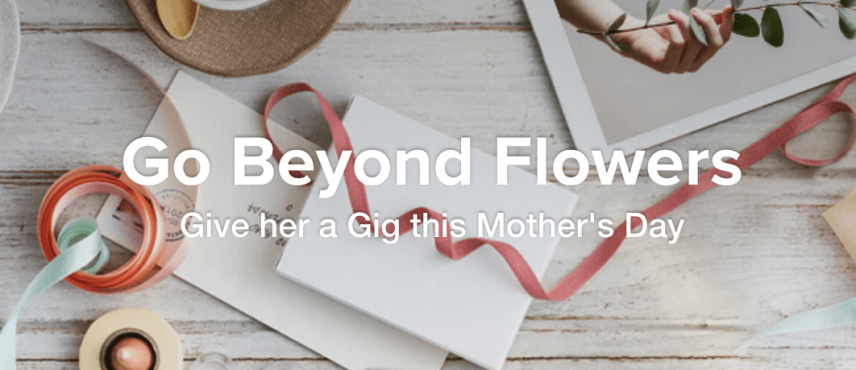 mothers day marketing campaign example - fiver