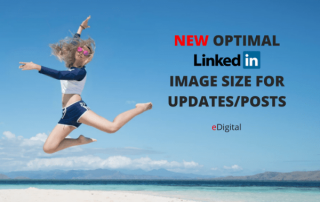 new optimal linkedin image photo size update post dimension