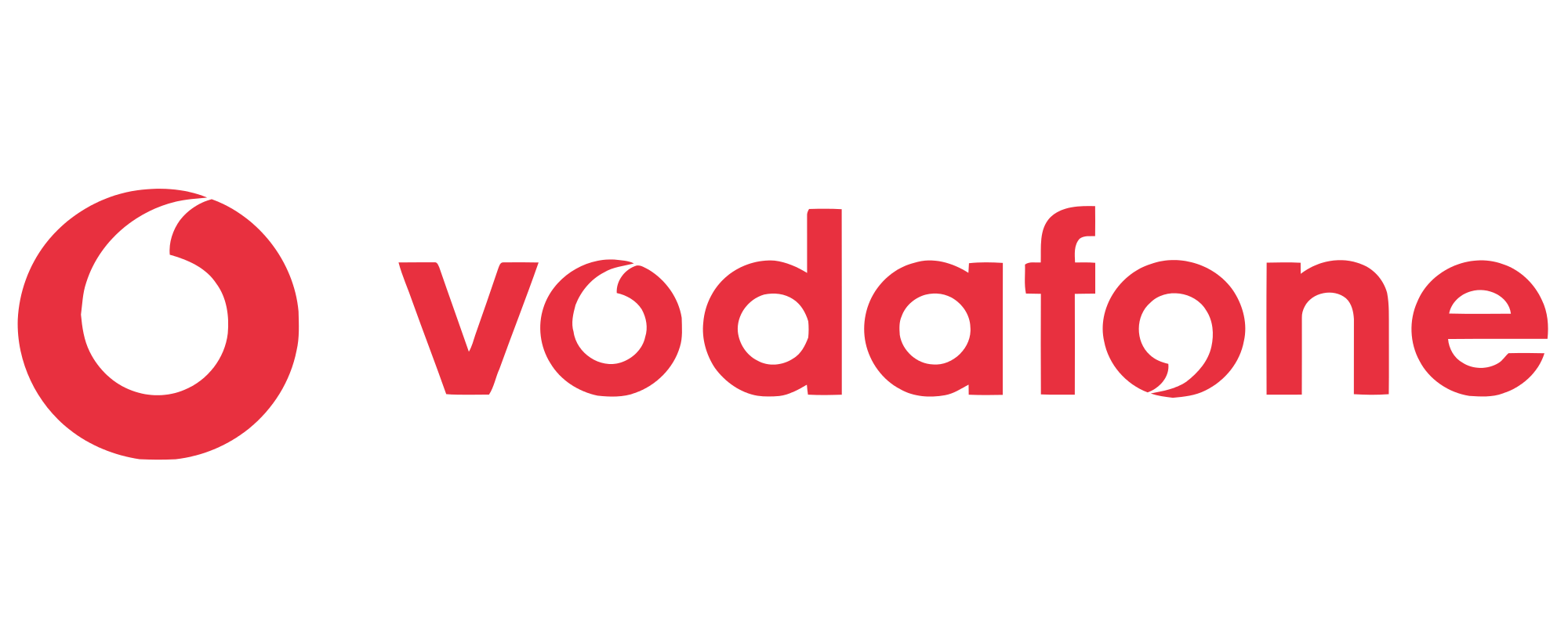 THE NEW VODAFONE LOGO 2020 PNG