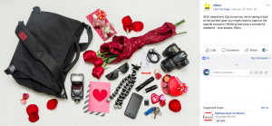 nikon valentines day marketing campaign australia facebook page post