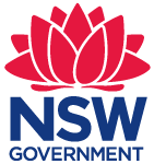 nsw government state logo new south wales 2015 red blue
