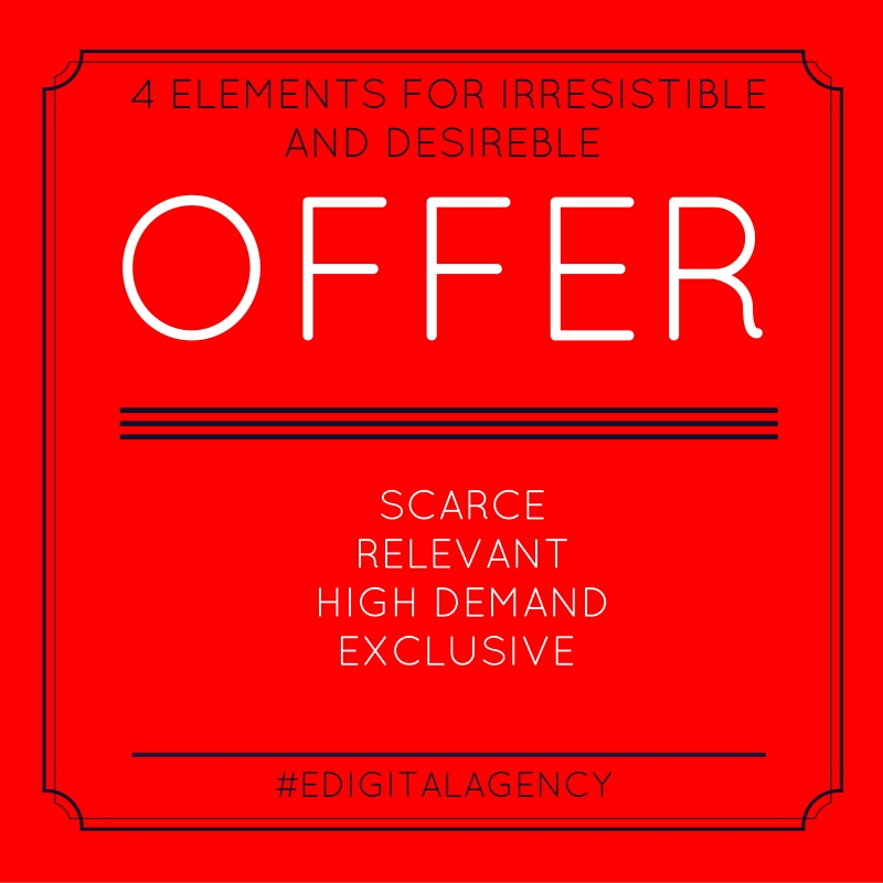 offers tripwires elements-marketing strategy edigital scarce relevant high demand exclusive