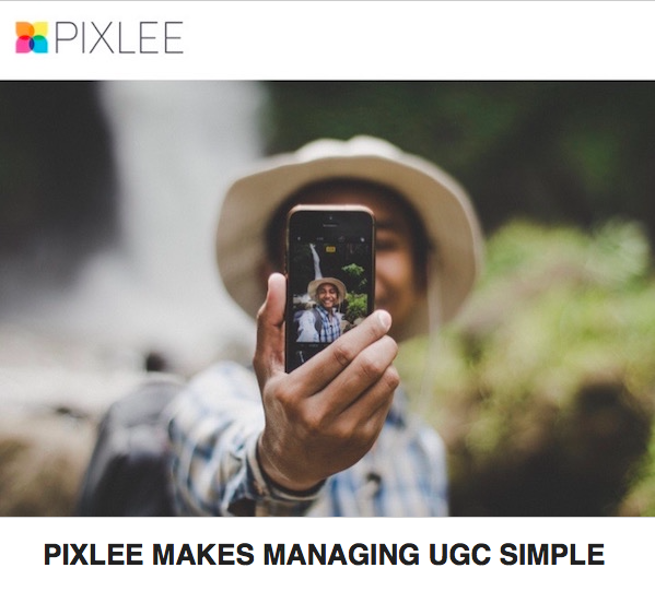 pixlee makes managing user generating content simple