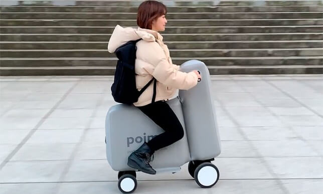 poimo inflatable scooter japan may 2020