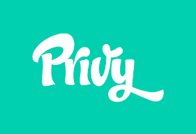 privy logo green background email marketing platform