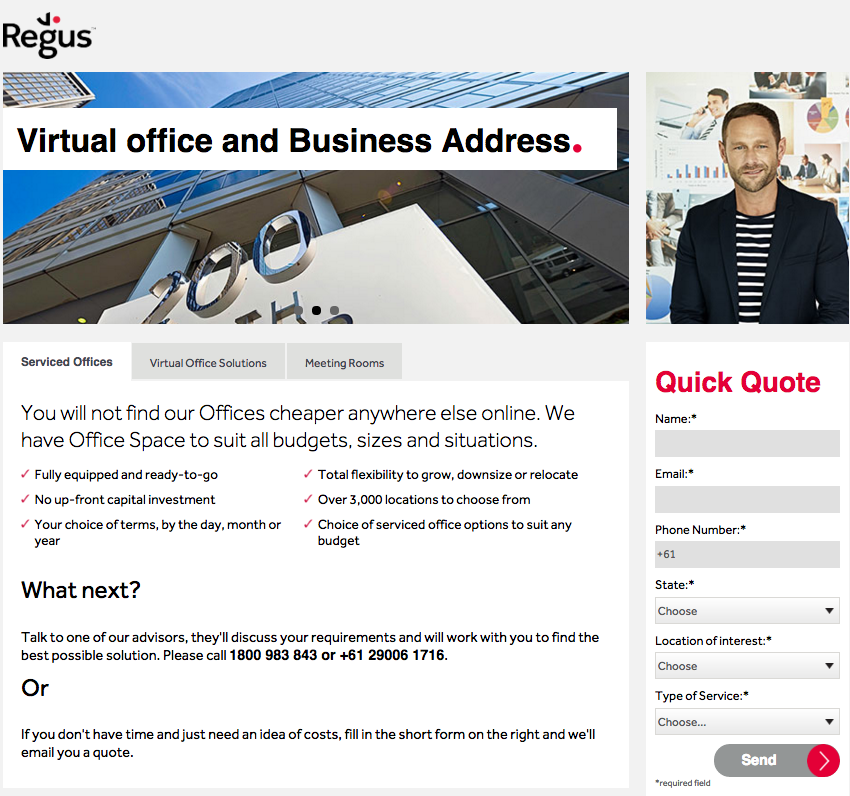 regus australia offices serviced coworking shared sydney landing page website oct 15