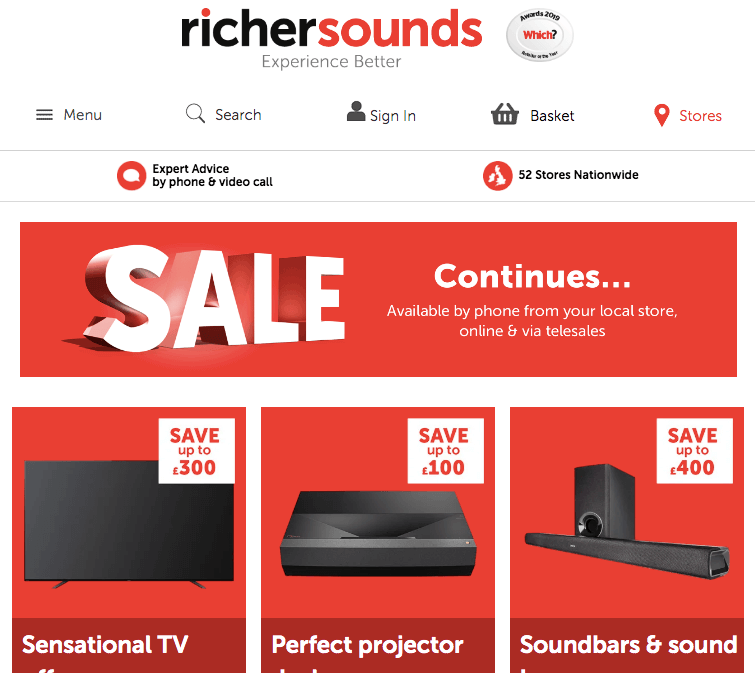 richer sounds January sale deals offers