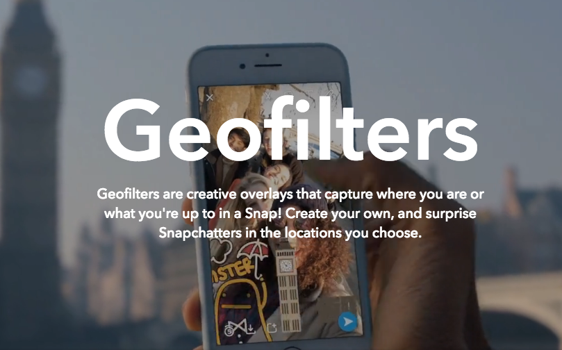 snapchat geofilters marketing design services