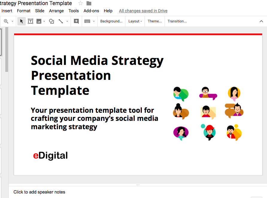 BEST SOCIAL MEDIA STRATEGY TEMPLATE IN 2019 · eDigital