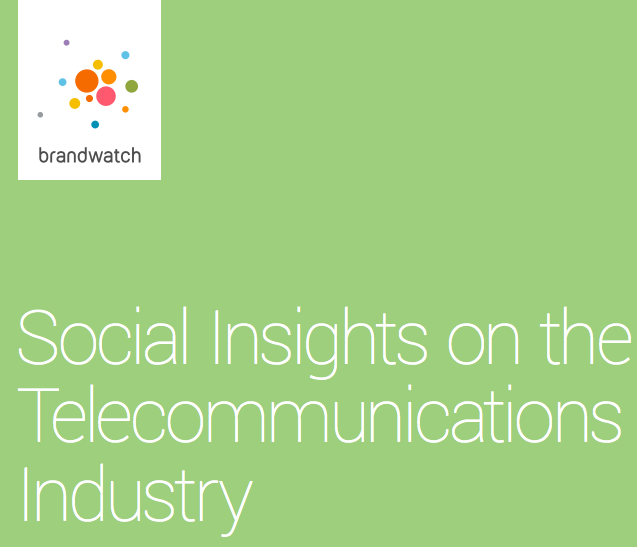 social media telecommunications insights trends brandwatch Nov 2015 report study